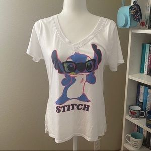 Disney Neon Stitch T-Shirt